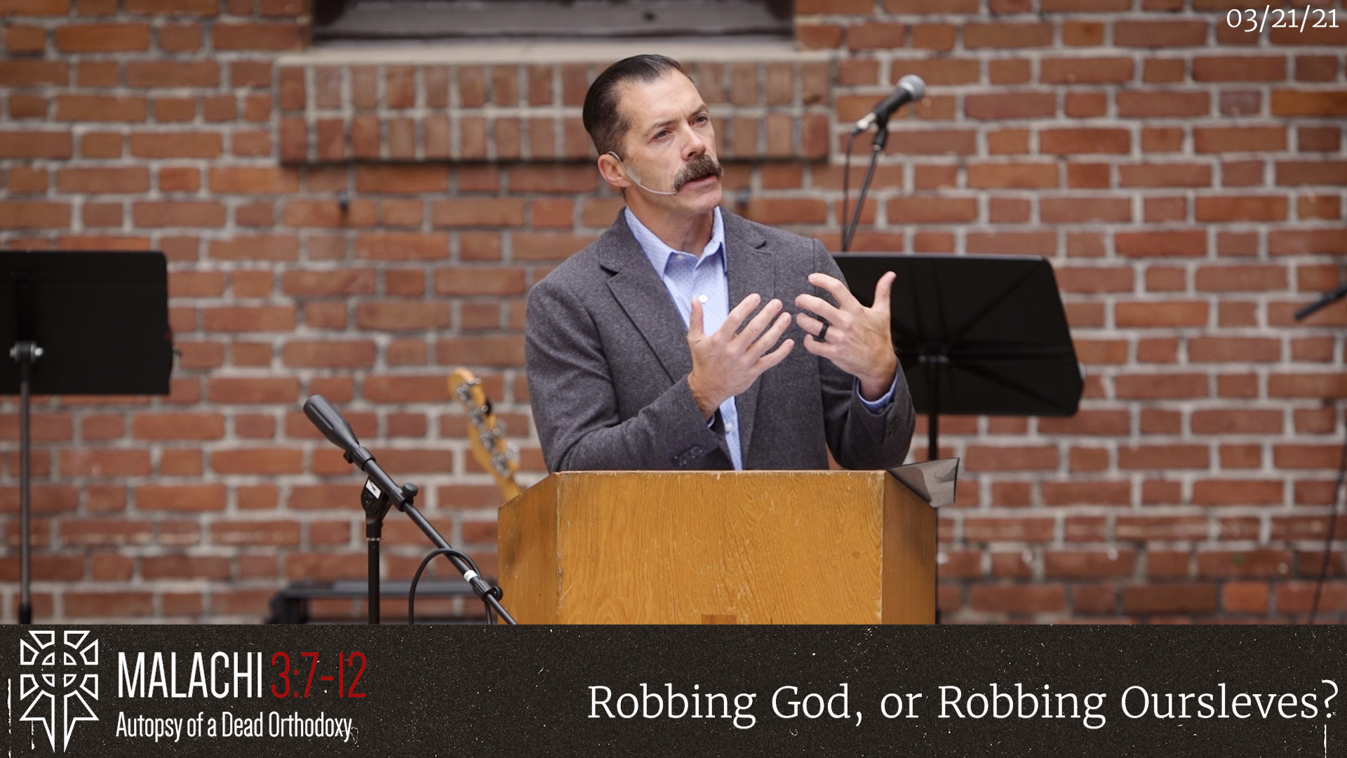 Robbing God, Our Robbing Ourselves?