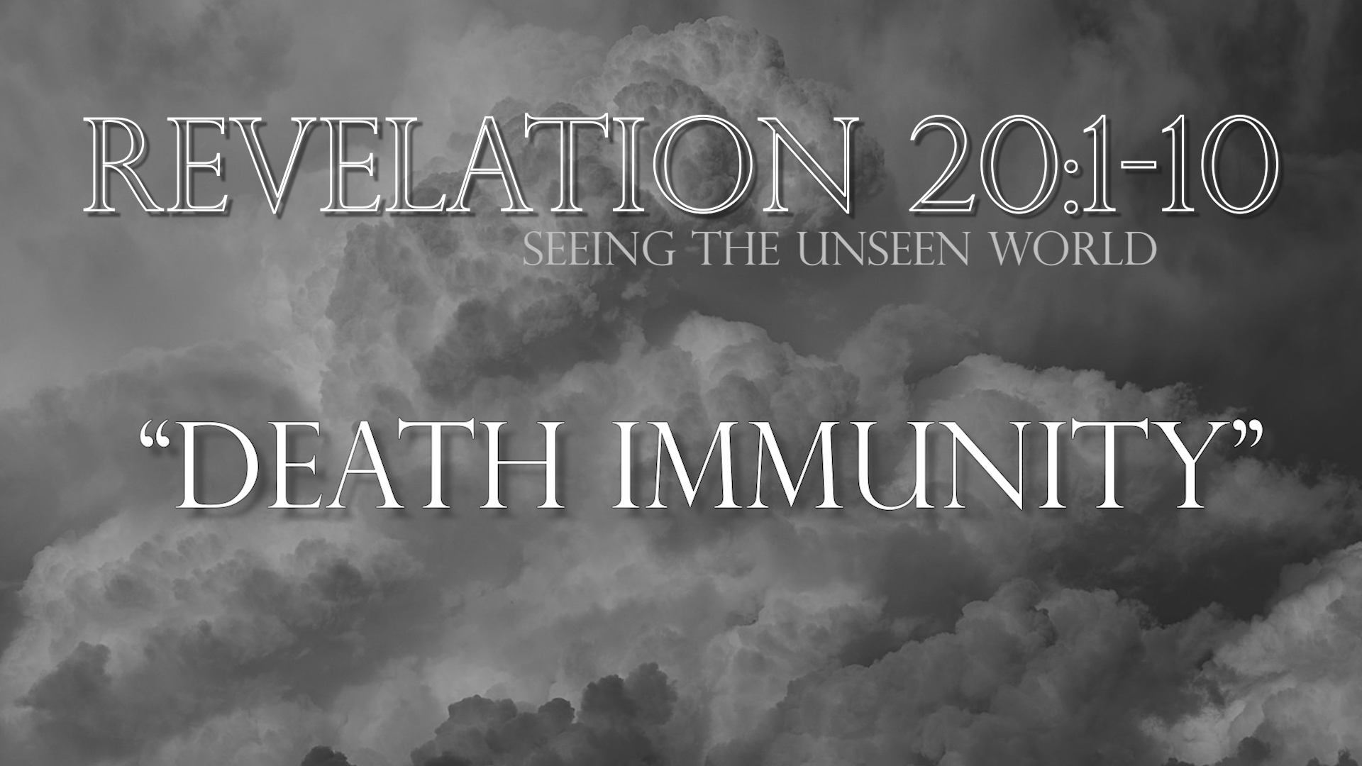 Death Immunity