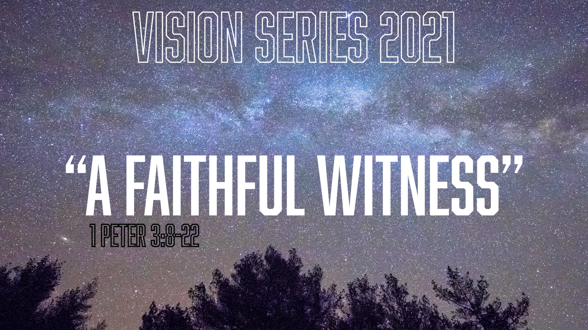 """A Faithful Witness"""
