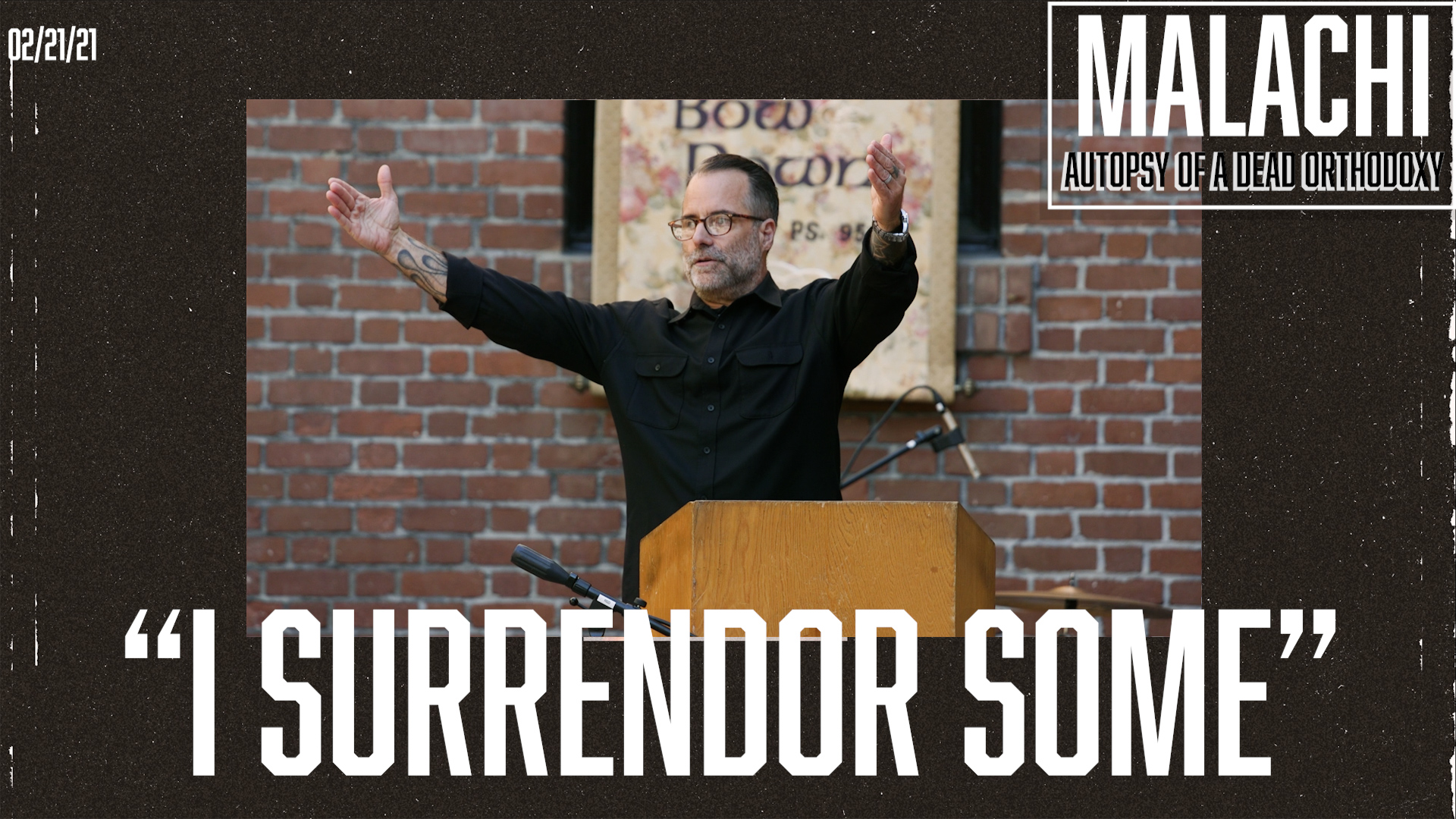 """I Surrender Some"""
