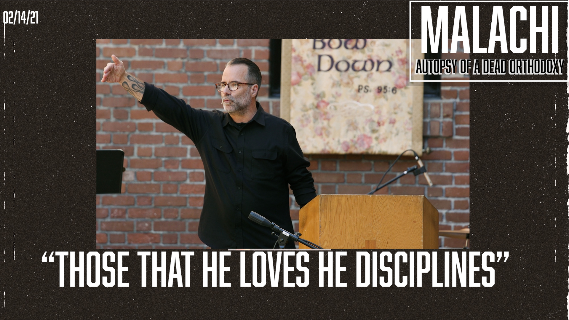 """Those that He Loves He Disciplines"""